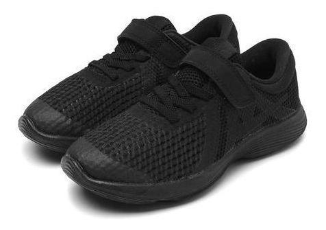 Tênis Nike Revolution 4 Psv Preto Original C/nota Fiscal