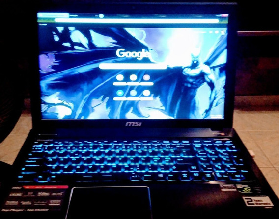 Notebook Gamer, Core I7, Nvidia Geforce 850m.