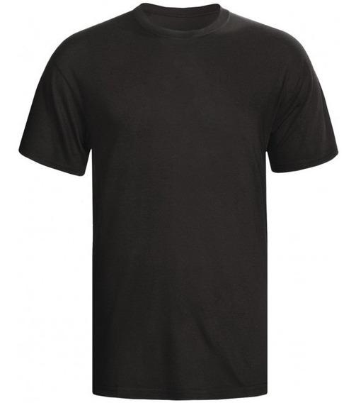 Camisa Lisa Preta