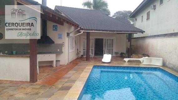 Casa À Venda, 280 M² Por R$ 850.000,00 - Acapulco - Guarujá/sp - Ca0565