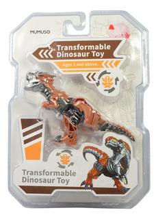 Juguete Dinosaurio Transformable - Cafe