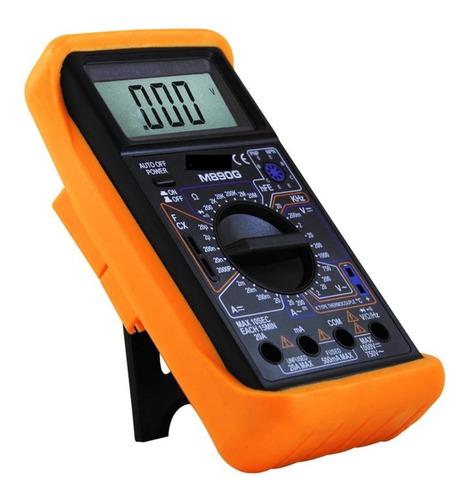 Imagen 1 de 10 de Tester Digital M890g Multimetro Capacimetro Temp Frecuencia