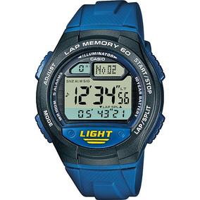 Relógio Casio Bateria 10 Anos 100m W-734-2avdf Original