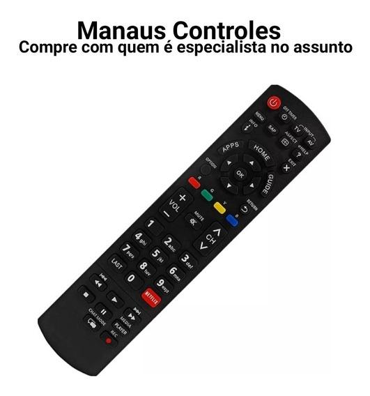 Controle Remoto Para Tv Led Smart Panasonic Viera Netflix