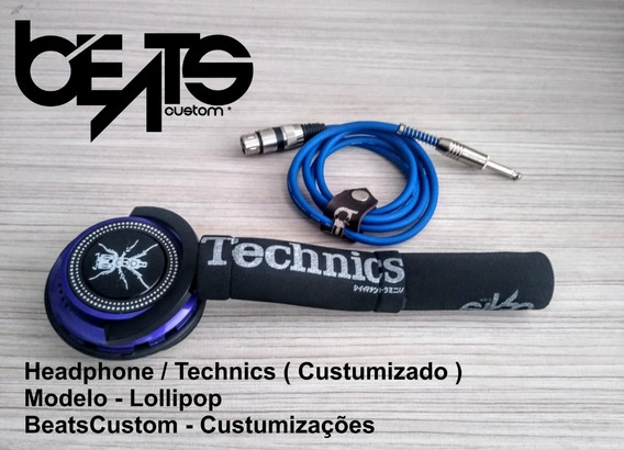 Headphones Technics - Modelo Lollipop