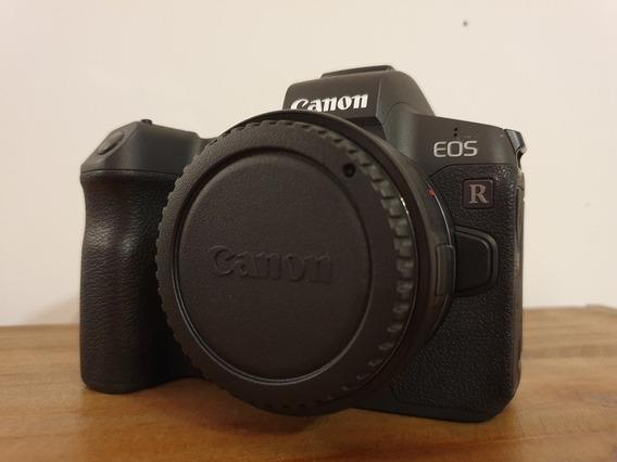 Canon Eos R Perfeito Estado 4k Clicks Apenas Nf E Garantia