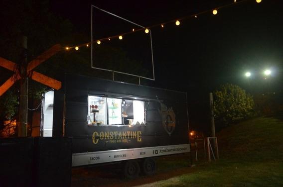 Food Truck Listo Para Trabajar