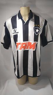 Camisa De Futebol Botafogo 2001 Topper Tam # 9 Td1