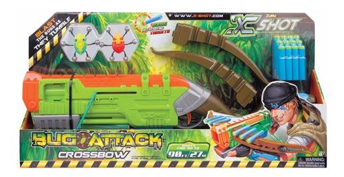 Ballesta X Shot Bug Attack Crossbow Pistola Lanza Dardos