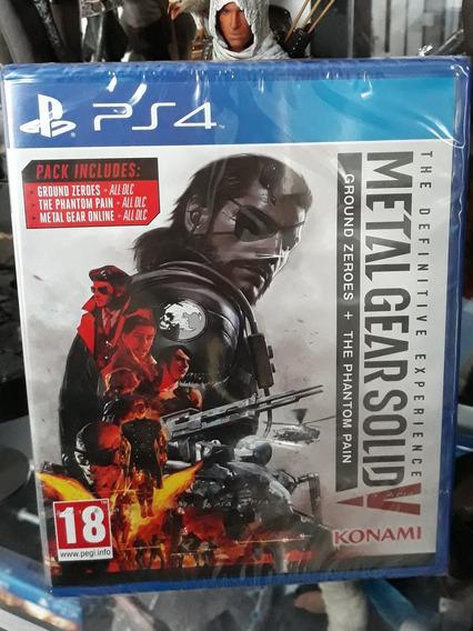 Jogo Metal Gear Solid 5 Phantom Pain Playstation 4 Novo