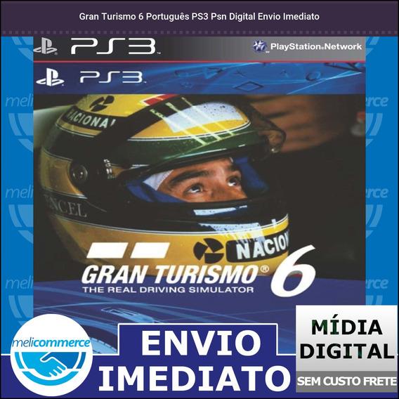 Gran Turismo 6 Português Ps3 Psn Digital Envio Imediato