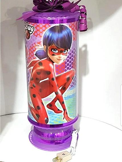 Lady Bug Centros De Mesa 10 Lamparas 38 Cm Altura Premium