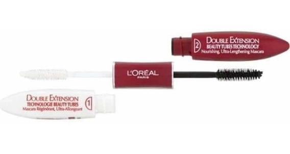 Rímel Loréal Double Extension Máscara Original Importado