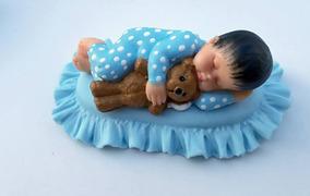 Kit20 Lembrancinhas Chá De Bebê Ou Nascimento Ursinho Menino
