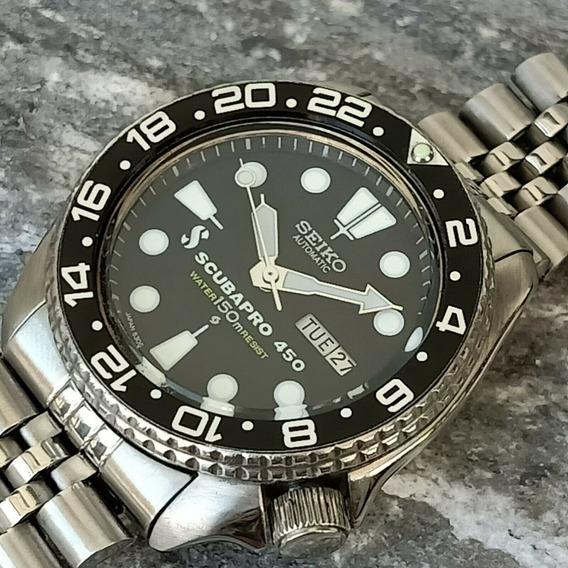 Relógio Seiko 6309-729a Mostrador Scuba Pró 450