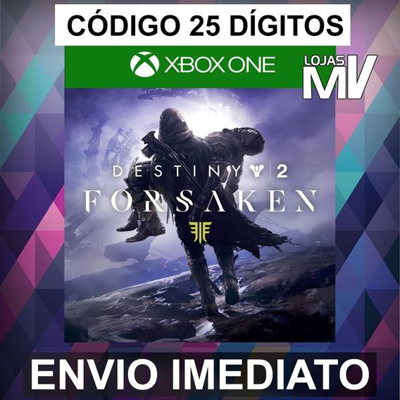 Destiny 2: Renegados Completa Código De 25 Digitos Xbox One