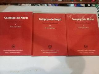 Diccionario Maya-español Calepino De Motul. Tres Tomos.
