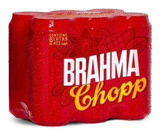 Oferta Cerveza Brahma Latas 473 Ml