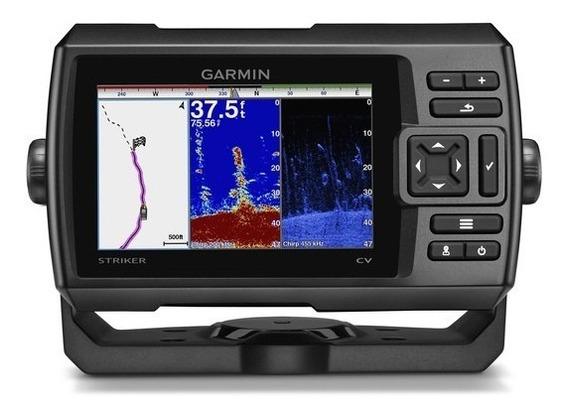 Gps Sonar Garmin Striker 5cv P/ Pesca Peixe Cardume Em Barco