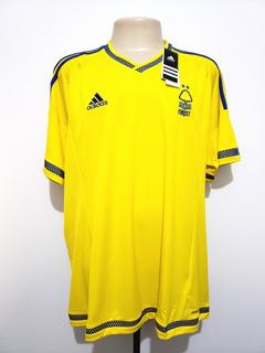Camisa Nottingham Forest Inglaterra 2015 Away adidas Tam Ggg