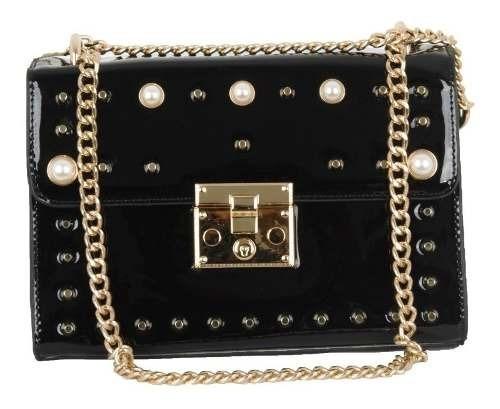 Bolsa Feminina Transversal Envernizada Moda Luxo Promoção!