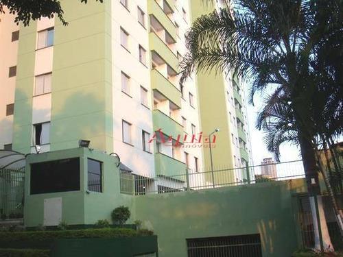 Apartamento Com 3 Dormitórios À Venda, 58 M² Por R$ 265.000,00 - Vila Valparaíso - Santo André/sp - Ap1803