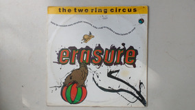Lp Erasure - The Two Ring Circus Usado Com Garantia