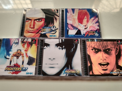 The King Collection 95 96 97 98 E 99 - Psone Patch