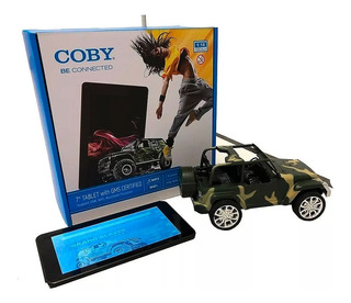 Tablet Coby 7 1 Ram 8 Hdd Dual Cam + Jeep 4x4 Bluetooth