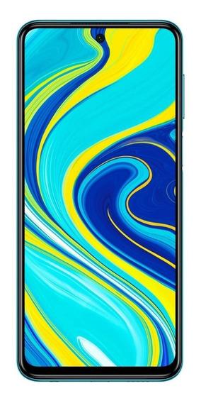Xiaomi Redmi Note 9S Dual SIM 64 GB Aurora blue 4 GB RAM