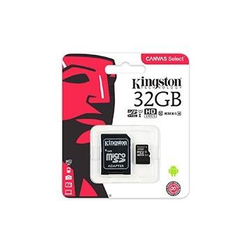 Cartão De Memória Kingston 32gb Class 10 Com Adapter