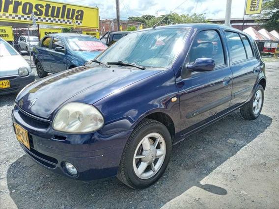 Renault Clio Azul Mecanico Mod 2002