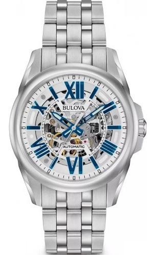 Relógio Bulova Automático Esqueleto 96a187