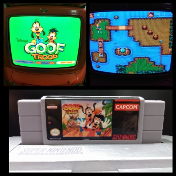 Goof Troop De Super Nintendo