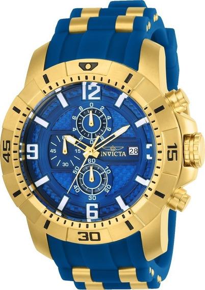 Relógio Invicta Pro Diver 24966 Ouro 18k Envio 24 Hs Grátis