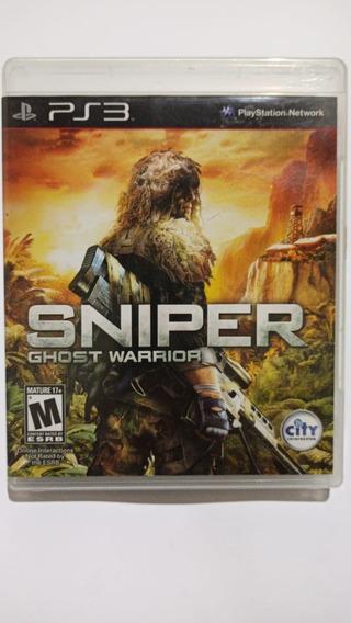Sniper Ghost Warrior - Mídia Física - Ps3