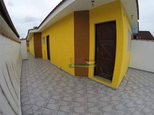 Imagem 1 de 13 de Casa Com 3 Dormitórios À Venda Por R$ 371.000 - Jardim Indaiá - Bertioga/sp - Ca5599