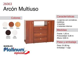 Arcon Multifuncion - Envio Sin Cargo Al Gran Mza