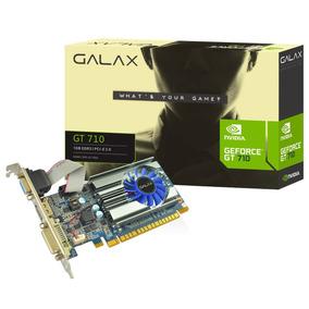 Placa De Vídeo Vga Galax Nvidia Geforce Gt 710 1gb