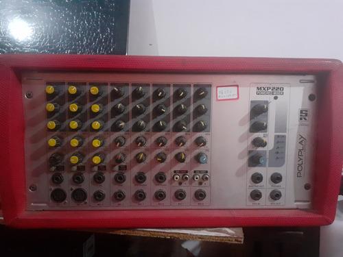 Vendo Uma Mesa Amplificada Staner 8canais Mpx220