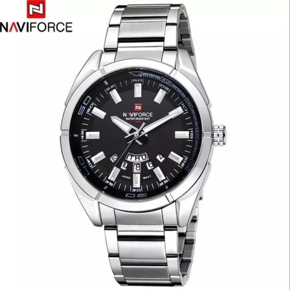 Relógio Naviforce 9038 Aço Original Promocão