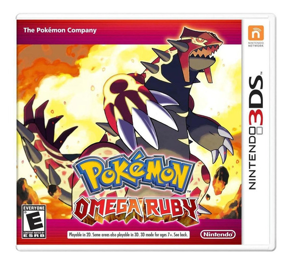 Jogo Novo Midia Fisica Pokemon Omega Ruby Para Nintendo 3ds