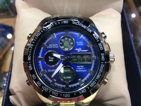 Relógio Masculino Original Modelo De Luxo Barato