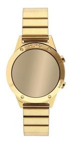 Relógio Euro Feminino Ref: Eujhs31bab/4d Digital Dourado