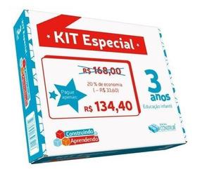 Kit Especial Construindo E Aprendendo 3 Anos Frete Gratis