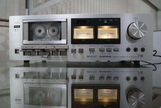 Tape Deck Pioneer Ct-405 Impecável, Ler Anuncio