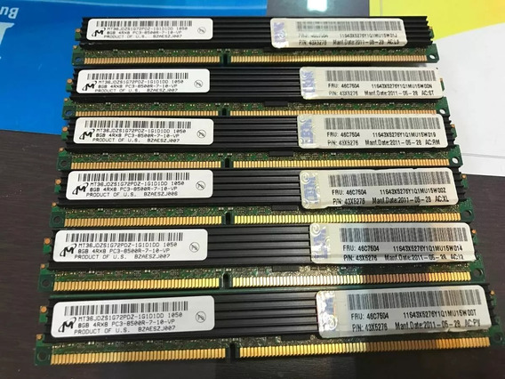 Memória 8gb Rdimm Pc3-8500r Dell Poweredge T310 R310