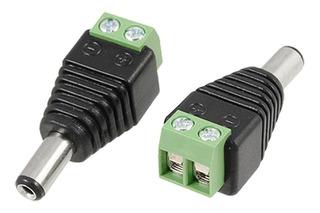Conector Adaptador Dc De Corriente A Plug 5.5x2.1