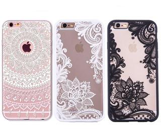Funda iPhone Mandala Flor Henna Encaje Floral Envio Gratis
