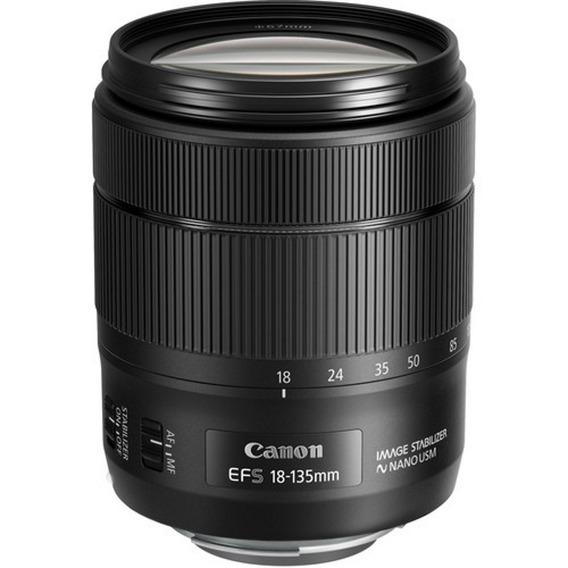 Lente Canon Ef-s 18-135mm F/3.5-5.6 Is Usm - Loja Platinum